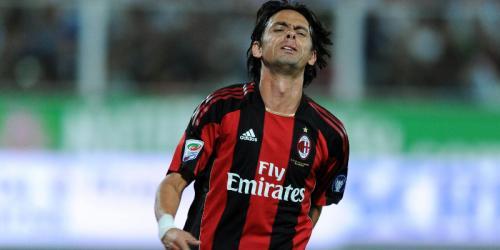 AC Mailand: Inzaghi droht Karriereende