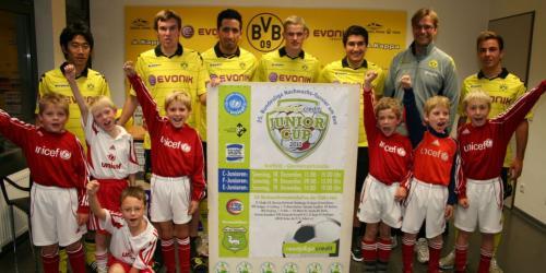 ready&go credit junior cup: Nachwuchs fiebert schon