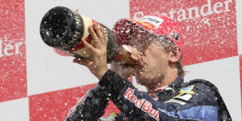 Vettels Marathon: Ohne Schlaf direkt nach Salzburg