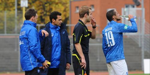 VfL II: Azaouagh-Sprechchöre bei 1:1 gegen Lotte