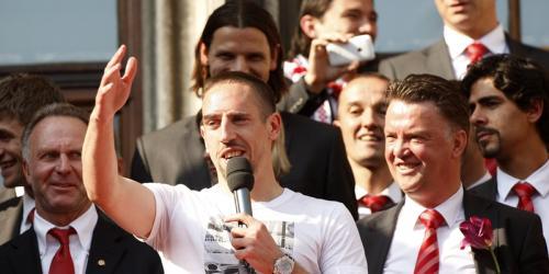 FCB: Ribery stellt sich offen gegen van Gaal