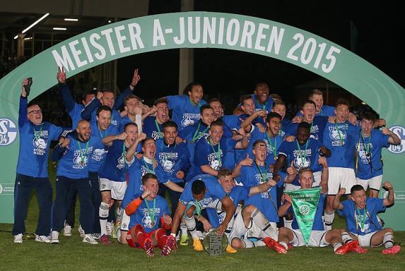 Schalke: U19 ist Deutscher Meister!