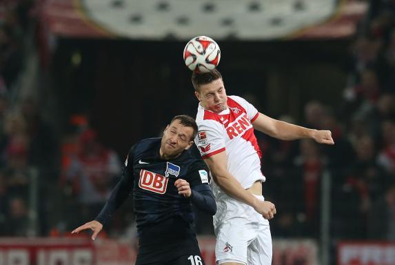 hertha bsc berlin, 1. FC Köln, Julian Schieber, Kevin Wimmer, Saison 2014/15, hertha bsc berlin, 1. FC Köln, Julian Schieber, Kevin Wimmer, Saison 2014/15