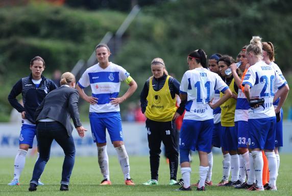 Trainerin, Inka Grings, msv duisburg, Saison 2014/15, Allianz Frauen Bundesliga, Trainerin, Inka Grings, msv duisburg, Saison 2014/15, Allianz Frauen Bundesliga