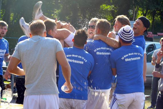 Blau-Weiß Oberhausen, Aufstieg 2015