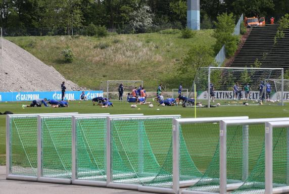 Schalke 04, Training.