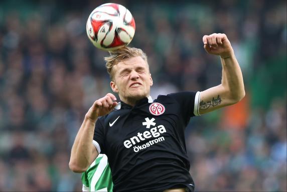 Kopfball, FSV Mainz 05, Saison 2014/15, Johannes Geis, Kopfball, FSV Mainz 05, Saison 2014/15, Johannes Geis
