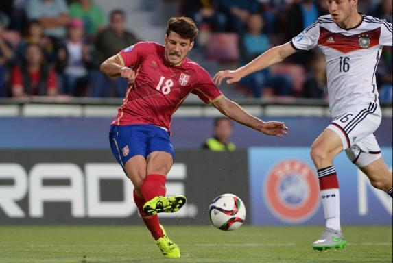 Milos Jojic, Borussia Dortmund, Serbien