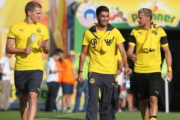 Matthias Ginter, Nuri Sahin, Oliver Kirch, Borussia Dortmund, BVB