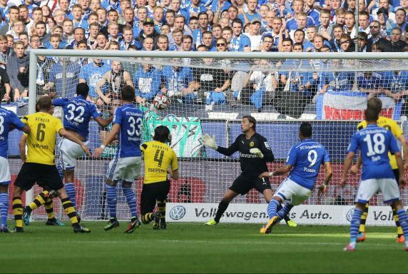Roman Weidenfeller, Schalke - Dortmund, Saison 2014/2015, 145. Revierderby, Roman Weidenfeller, Schalke - Dortmund, Saison 2014/2015, 145. Revierderby