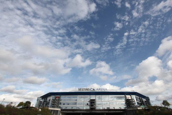 Wolken, Veltins-Arena, stadion, Himmel, Wolken, Veltins-Arena, stadion, Himmel