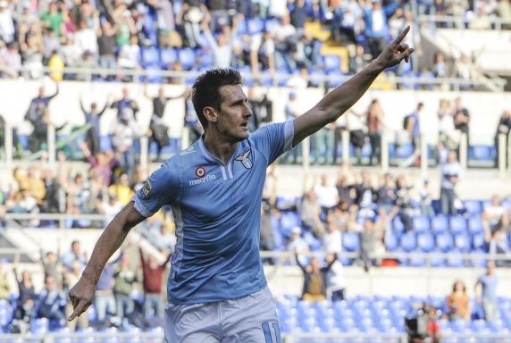 Miroslav Klose, Lazio Rom, Saison 2013/2014, Miroslav Klose, Lazio Rom, Saison 2013/2014