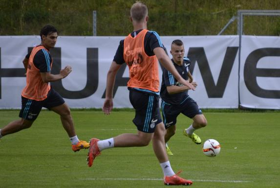 Felix Schröter, FC Schalke 04, Trainingslager, Velden.