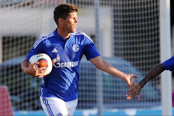 Klaas-Jan Huntelaar, Schalke 04, Testspiel.