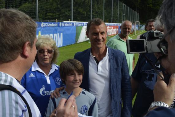 Ebbe Sand, Fans, FC Schalke 04.