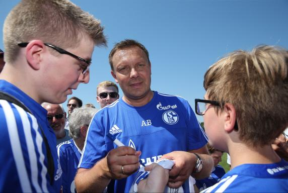 Trainer, Schalke 04, Andre Breitenreiter, Saison2015/16, Trainer, Schalke 04, Andre Breitenreiter, Saison2015/16