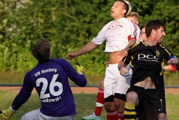 Vogelheim - Homberg: Verletzung überschattet VfB-Sieg