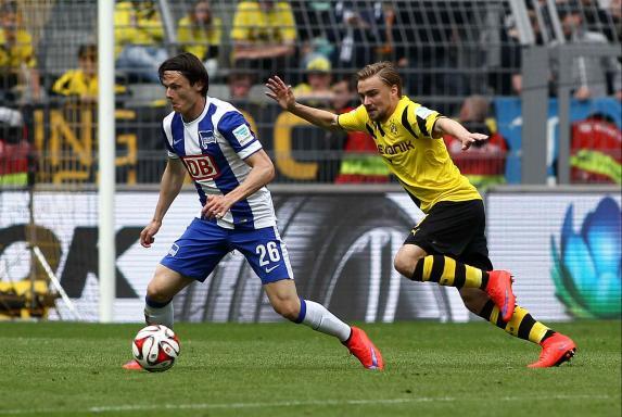 Hertha BSC, Borussia Dortmund, Marcel Schmelzer, Nico Schulz, Hertha BSC, Borussia Dortmund, Marcel Schmelzer, Nico Schulz