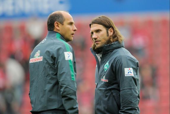 Torsten Frings, SV Werder Bremen, Saison 2014/15, Viktor Skripnik, Torsten Frings, SV Werder Bremen, Saison 2014/15, Viktor Skripnik
