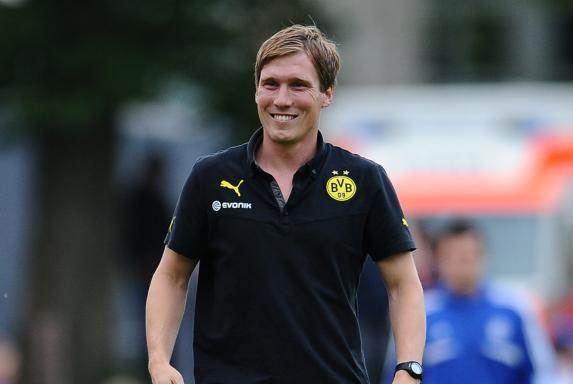 Trainer, Borussia Dortmund, Hannes Wolf, B-Junioren, Saison 2013/14, Trainer, Borussia Dortmund, Hannes Wolf, B-Junioren, Saison 2013/14