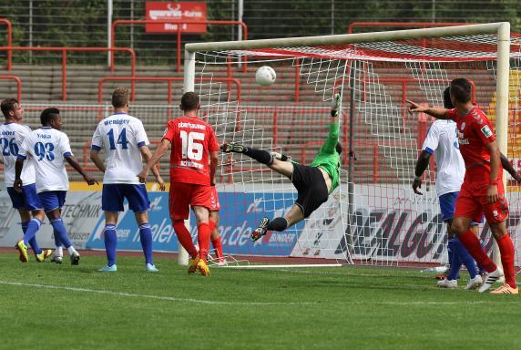 Rot-Weiß Oberhausen, Sportfreunde Baumberg, Rot-Weiß Oberhausen, Sportfreunde Baumberg