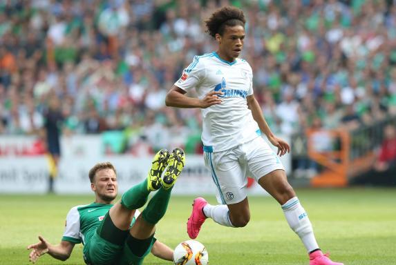 Leroy Sané, FC Schalke 04.