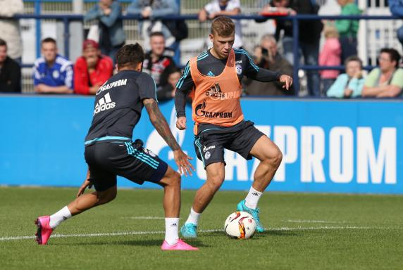 Max Meyer, Training FC Schalke 04.