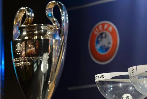 Champions League, Auslosung, Topf, Glas, Schüssel, Champions League, Auslosung, Topf, Glas, Schüssel