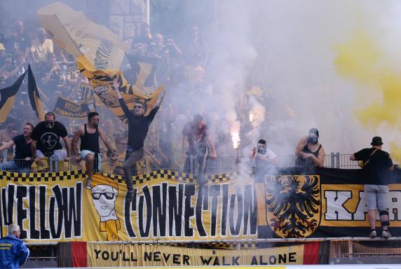 Alemannia Aachen, Fans, Pyro, Böller