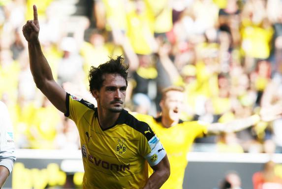 Mats Hummels Borussia Dortmund Hertha BSC Berlin