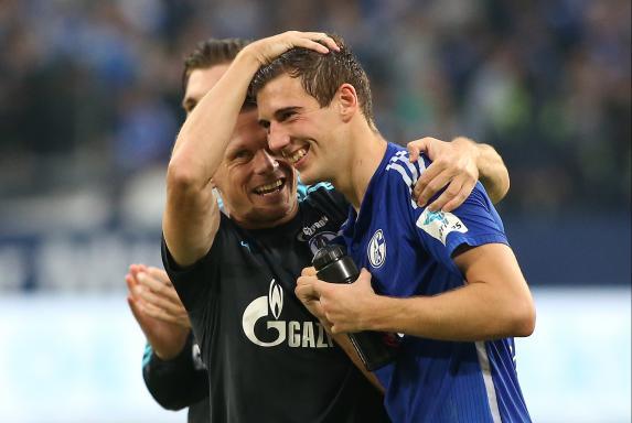 Leon Goretzka, FC Schalke 04.