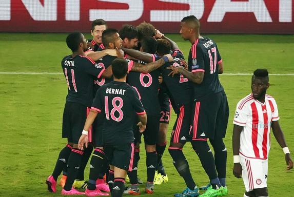 CL: Bayern feiert Auftaktsieg im Jubiläumsspiel