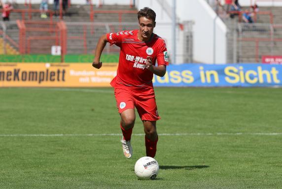 Rot-Weiß Oberhausen, Patrick Bauder, RWO-Borussia Mönchengladbach 2, Rot-Weiß Oberhausen, Patrick Bauder, RWO-Borussia Mönchengladbach 2