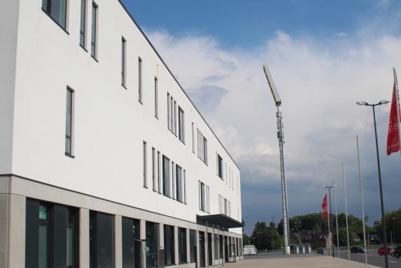 Rot-Weiss Essen, Symbolbild, Stadion Essen, Haupttribüne, Rot-Weiss Essen, Symbolbild, Stadion Essen, Haupttribüne