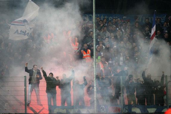 Rostock, Fans, Ausschreitungen.