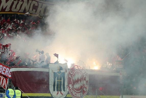 FC Bayern München, Pyrotechnik, Fans.