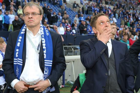 fc schalke 04, Peter Peters, horst heldt, Saison 2013/2014, fc schalke 04, Peter Peters, horst heldt, Saison 2013/2014