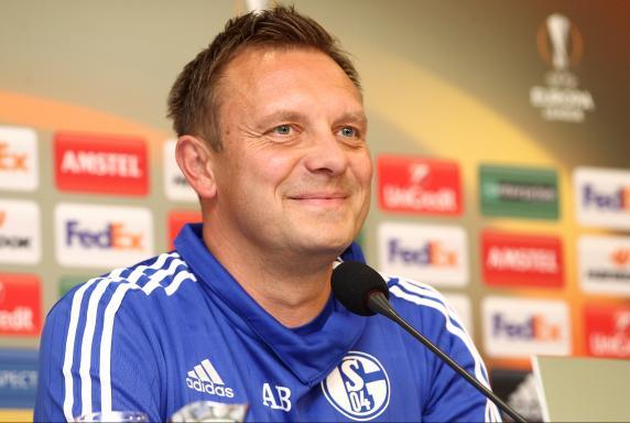 Trainer André Breitenreiter, FC Schalke04.