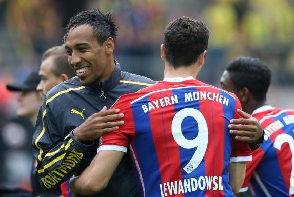Pierre-Emerick Aubameyang, Robert Lewandowski, Borussia Dortmund, BVB, FC Bayern München