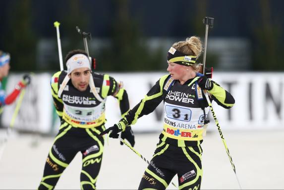 Martin Fourcade, Biathlon, Biathlon auf Schalke