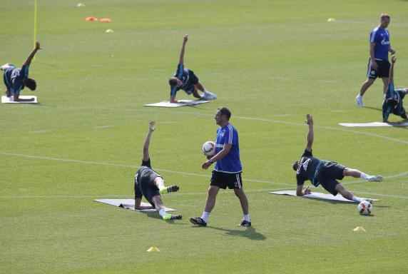 training, fc schalke 04, Andre Breitenreiter, training, fc schalke 04, Andre Breitenreiter