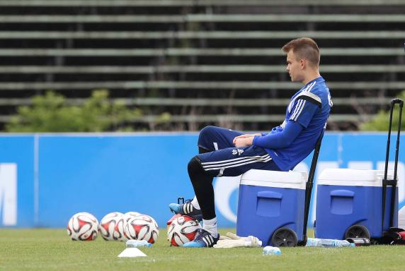 Timon Wellenreuther, FC Schalke 04, Training.