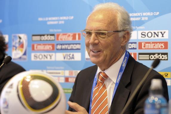 franz beckenbauer, Pressekonferenz im Rahmen der U20-Weltmeisterschaft der Frauen, franz beckenbauer, Pressekonferenz im Rahmen der U20-Weltmeisterschaft der Frauen