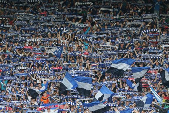 Fans, VfL Bochum, VfL-Fans, Fans, VfL Bochum, VfL-Fans