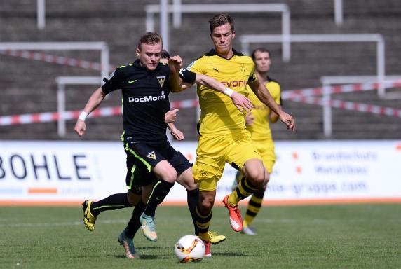 Alemannia Aachen, Borussia Dortmund II, Christoph Zimmermann, Viktor Maier, Saison 2015/2016, Alemannia Aachen, Borussia Dortmund II, Christoph Zimmermann, Viktor Maier, Saison 2015/2016