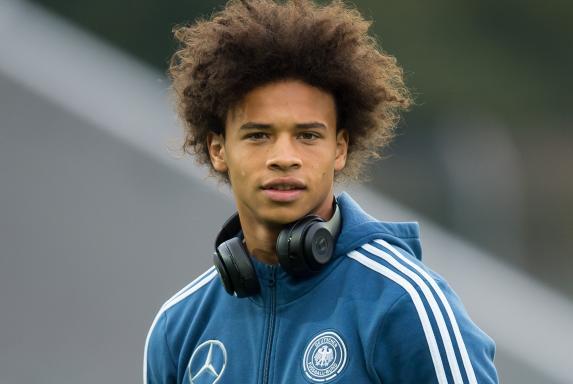 Leroy Sané, FC Schalke 04, DFB, Nationalmannschaft Deutschland.