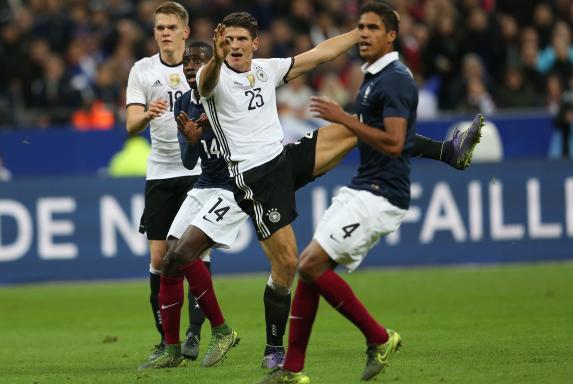 DFB: 0:2-Niederlage gegen Frankreich