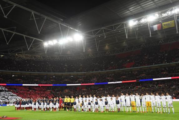 England, Frankreich, Wembley.