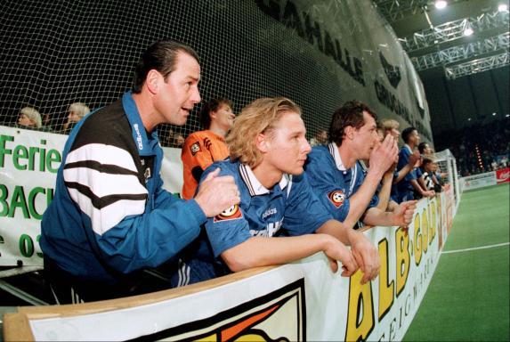 Huub Stevens, Mike Möllensiep, FC Schalke 04.