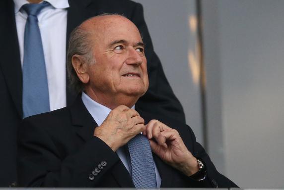 Sepp Blatter, Timo Kunert, FIFA-Präsident, Sepp Blatter, Timo Kunert, FIFA-Präsident